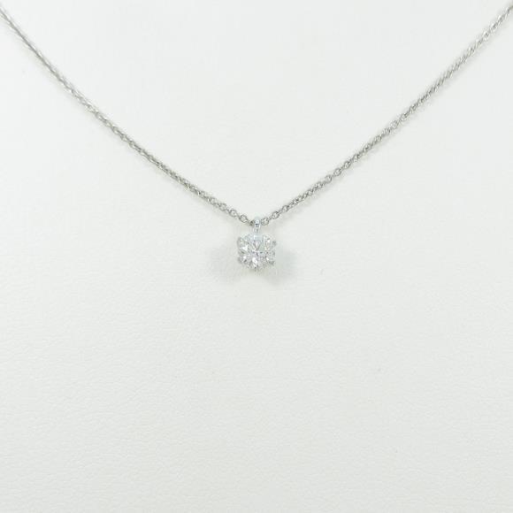 【リメイク】プラチナダイヤモンドネックレス 0.261ct・D・VVS2・3EXT【中古】 【店頭受取対応商品】