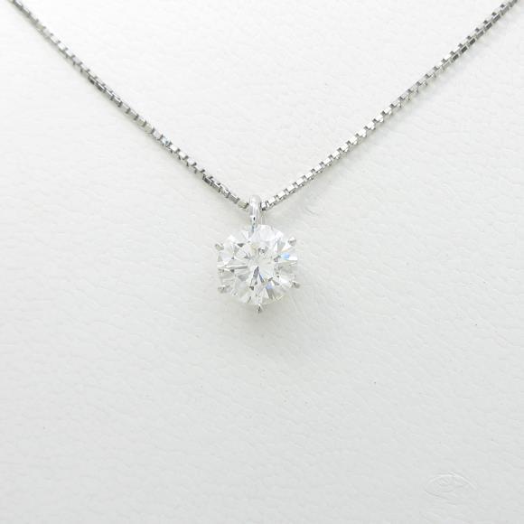 【リメイク】プラチナダイヤモンドネックレス 1.003ct・G・VVS2・VERYGOOD【中古】 【店頭受取対応商品】