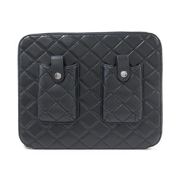 シャネル iPadケース【中古】 【店頭受取対応商品】