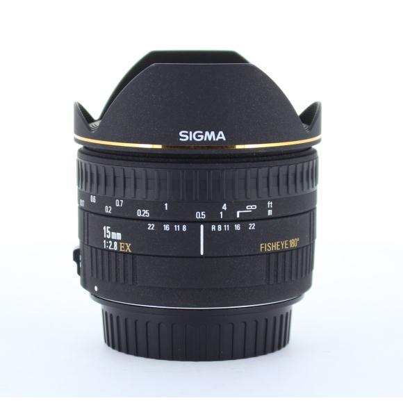 SIGMA EOS15mm F2.8EX FISHEYE【中古】