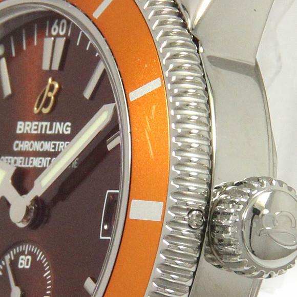 detailed look c5b0a 38079 上品】 ブライトリング A37320/A372Q43OCA ...