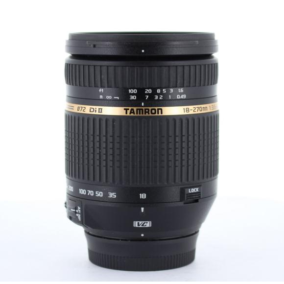 TAMRON ニコン18-270mm F3.5-6.3VC B003【中古】