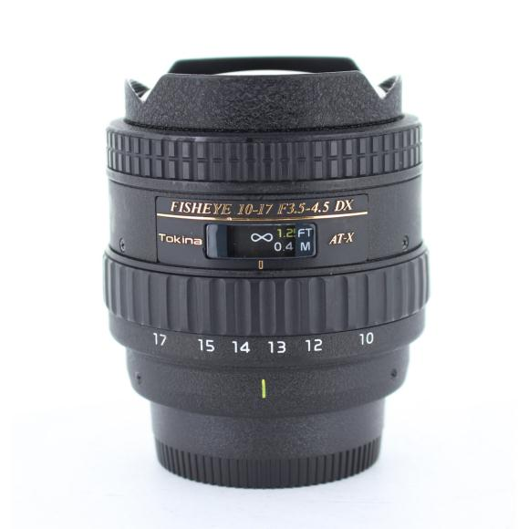 TOKINA ニコン10-17mm F3.5-4.5FISHEYE【中古】