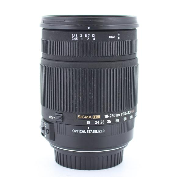 SIGMA EOS18-250mm F3.5-6.3DC【中古】