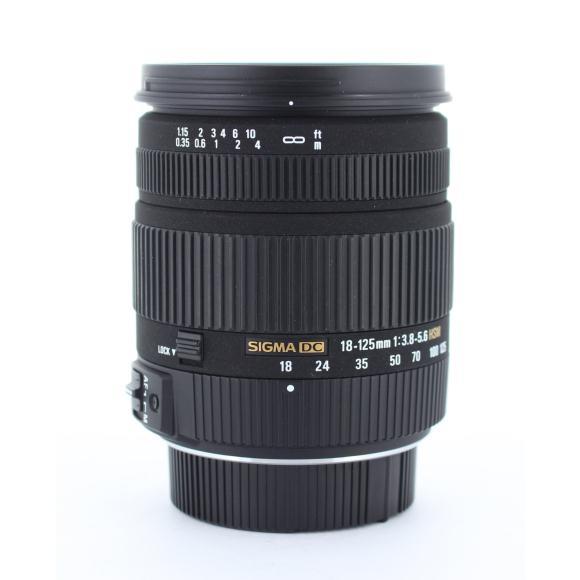 SIGMA ペンタ18-125mm F3.8-5.6DC HSM【中古】