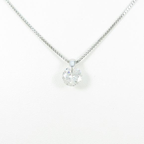 【リメイク】プラチナダイヤモンドネックレス 1.034ct・G・I1・GOOD【中古】 【店頭受取対応商品】