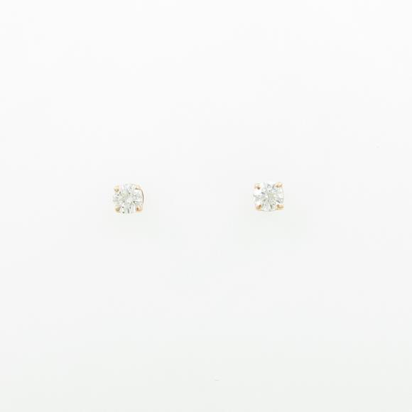 ティファニー ソリティア ピアス【中古】 【店頭受取対応商品】
