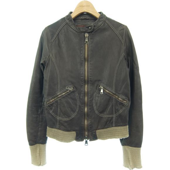 ジョルジオブラット GIORGIO BRATO ライダースジャケット【中古】 【店頭受取対応商品】