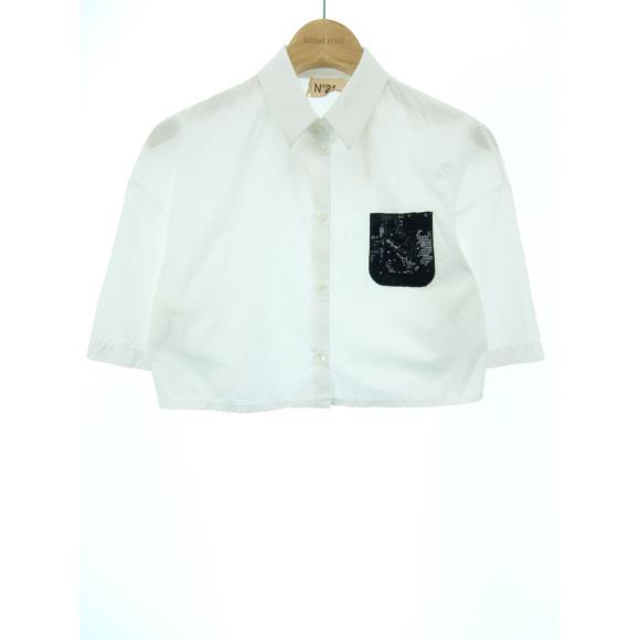 ヌメロヴェントゥーノ N°21 シャツ【中古】 【店頭受取対応商品】