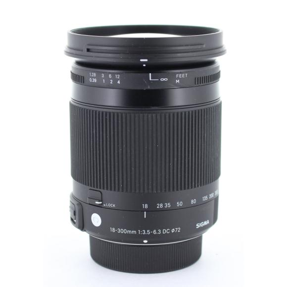 SIGMA ニコン18-300mm F3.5-6.3DC MACRO【中古】
