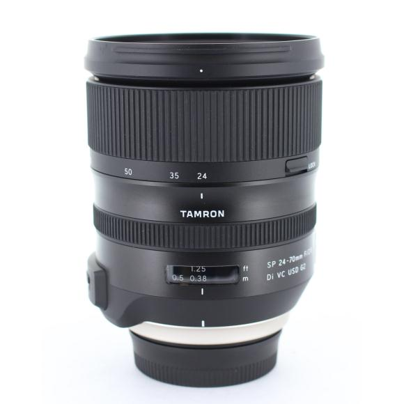 TAMRON ニコン24-70mm F2.8DIVCUSD(A032)【中古】