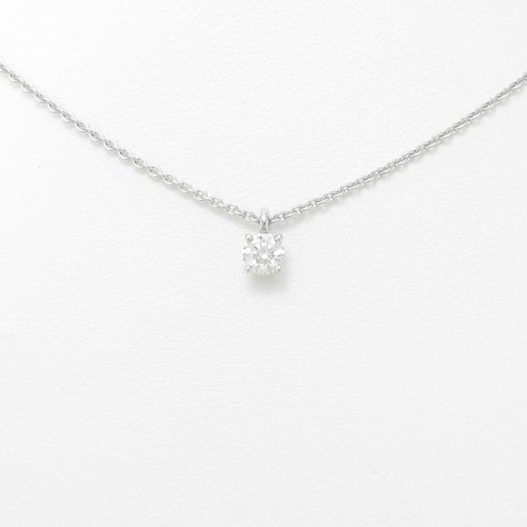 デビアス ダイヤモンドネックレス 0.20ct・E・VVS2【中古】 【店頭受取対応商品】