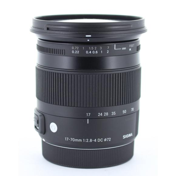 SIGMA EOS17-70mm F2.8-4DC OS(C)【中古】