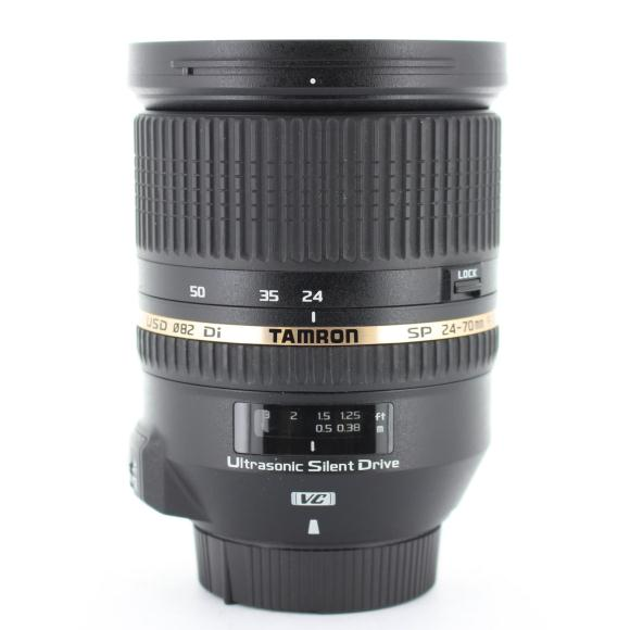 TAMRON ニコン24-70mm F2.8DI VC(A007)【中古】