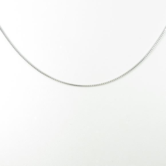 K18WG ベネチアン チェーンネックレス【中古】 【店頭受取対応商品】