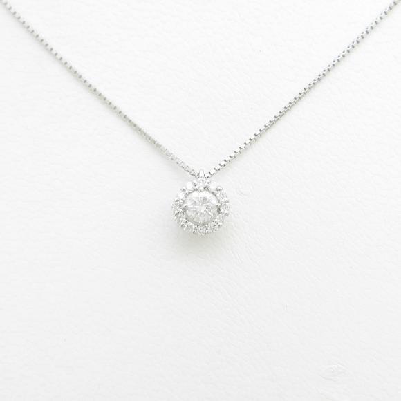 【新品】プラチナダイヤモンドネックレス 0.261ct・F・SI2・GOOD【新品】 【店頭受取対応商品】