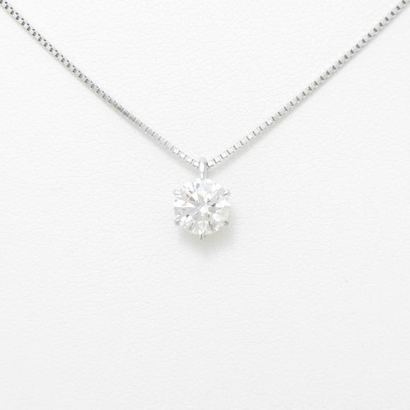 【リメイク】プラチナダイヤモンドネックレス 1.008ct・D・VS1・EXT【中古】 【店頭受取対応商品】