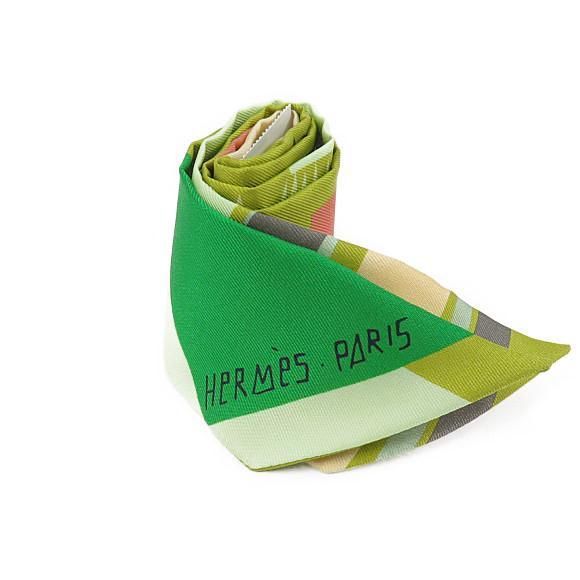 【未使用品】エルメス ツイリー スカーフ 063161S【中古】 【店頭受取対応商品】