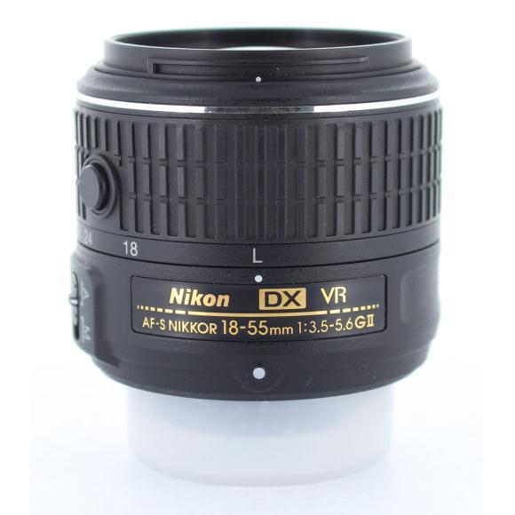 NIKON AF-S DX18-55mm F3.5-5.6GVRII【中古】