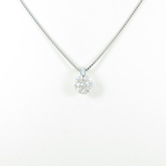 【リメイク】プラチナダイヤモンドネックレス 1.520ct・F・SI2・VERYGOOD【中古】 【店頭受取対応商品】
