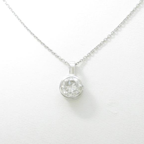 【リメイク】プラチナダイヤモンドネックレス 2.005ct・G・I1・FAIR【中古】 【店頭受取対応商品】