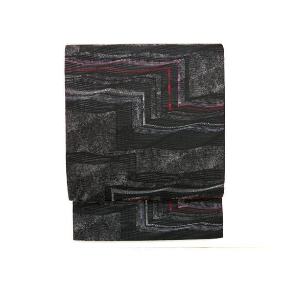 【未使用品】夏袋帯 変り絽織【中古】
