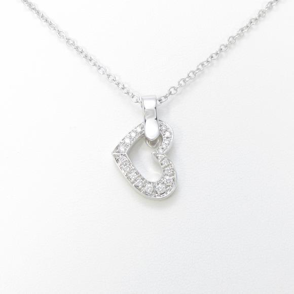 アスプレイ ハート ダイヤモンドネックレス【中古】 【店頭受取対応商品】