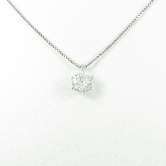 【リメイク】プラチナダイヤモンドネックレス 1.300ct・G・I1・GOOD【中古】 【店頭受取対応商品】
