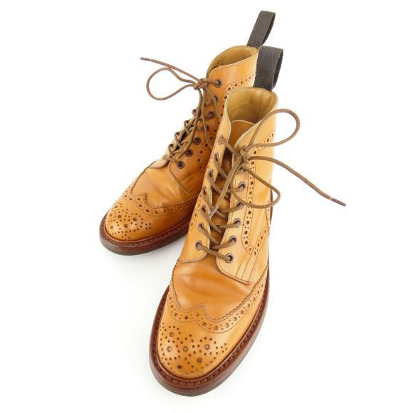トリッカーズ Tricker's ブーツ【中古】 【店頭受取対応商品】