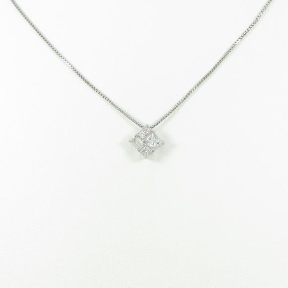 ヴァンドーム ダイヤモンドネックレス【中古】 【店頭受取対応商品】