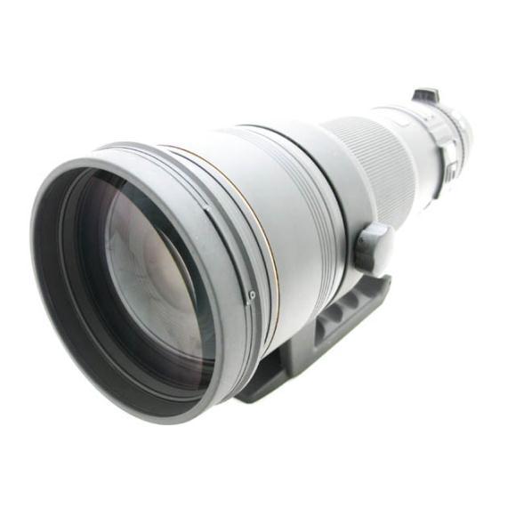SIGMA ニコン用500mm F4.5DG APO EX HSM【中古】