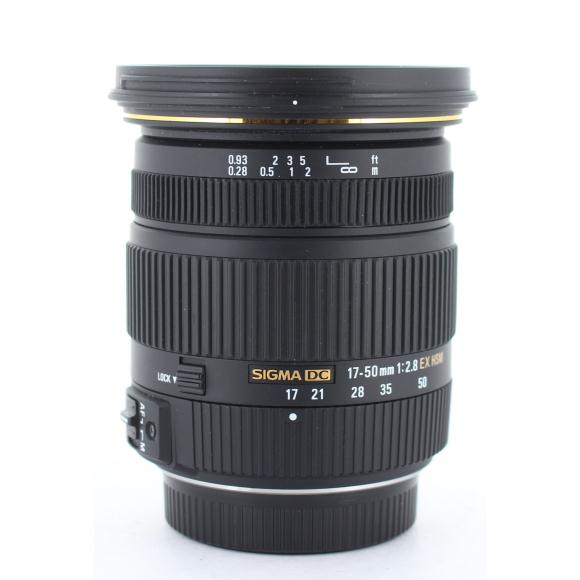 SIGMA ペンタ17-50mm F2.8EX DC HSM【中古】