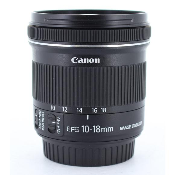CANON EF-S10-18mm F4.5-5.6IS STM【中古】