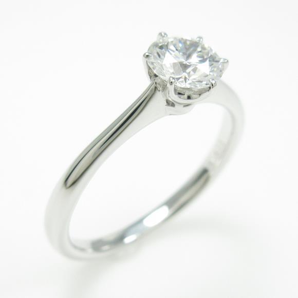【リメイク】プラチナダイヤモンドリング 0.511ct・D・VS2・EXT【中古】