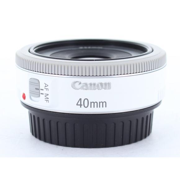 CANON EF40mm F2.8STM WHITE【中古】