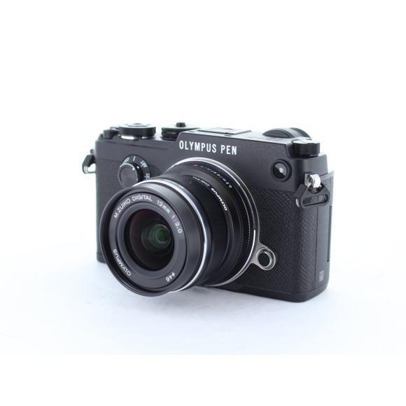 OLYMPUS PEN-Fブラック 12mm F2【中古】