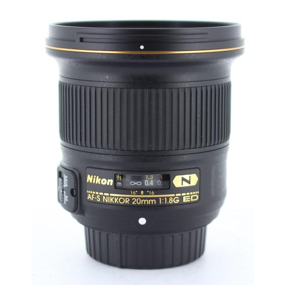 NIKON AF-S20mm F1.8G【中古】