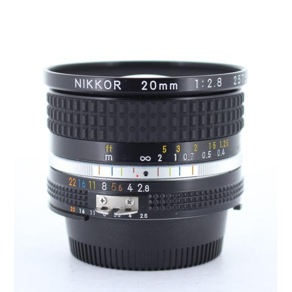 NIKON AI20mm F2.8S【中古】