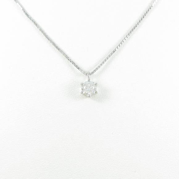 タサキ ダイヤモンドネックレス 0.308ct・G・SI1・EXT【中古】
