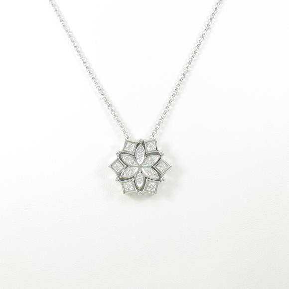 タサキ フラワー ダイヤモンドネックレス【中古】