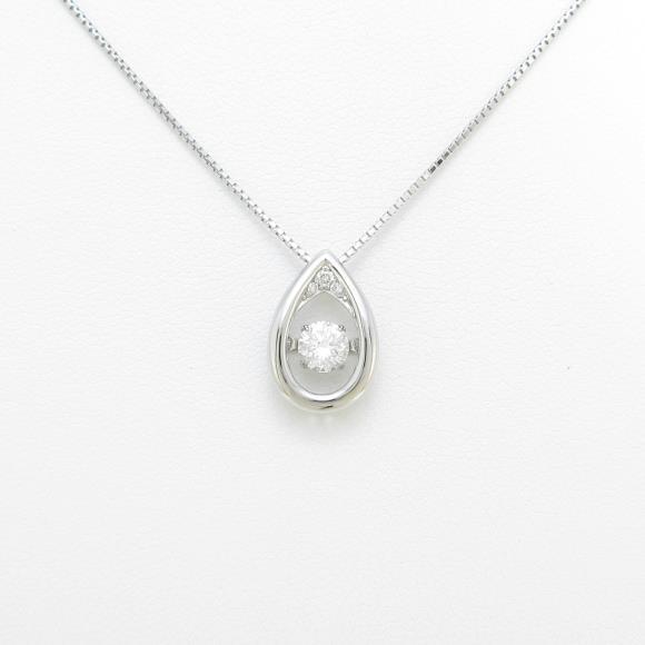 【新品】プラチナダイヤモンドネックレス 0.359ct・H・SI2・GOOD【新品】