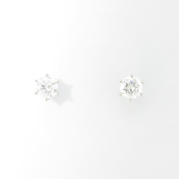 【新品】プラチナダイヤモンドピアス 0.218ct・0.205ct・H・SI2・GOOD【新品】