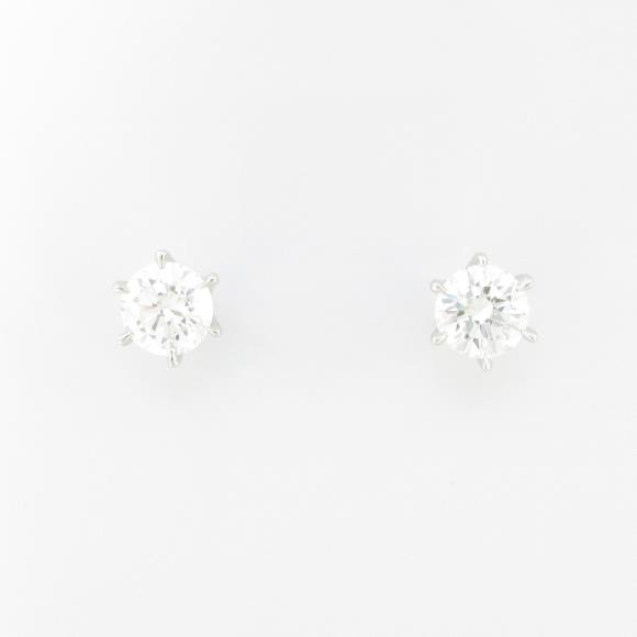 【新品】プラチナダイヤモンドピアス 0.309ct・0.301ct・G・SI2・VERYGOOD【新品】