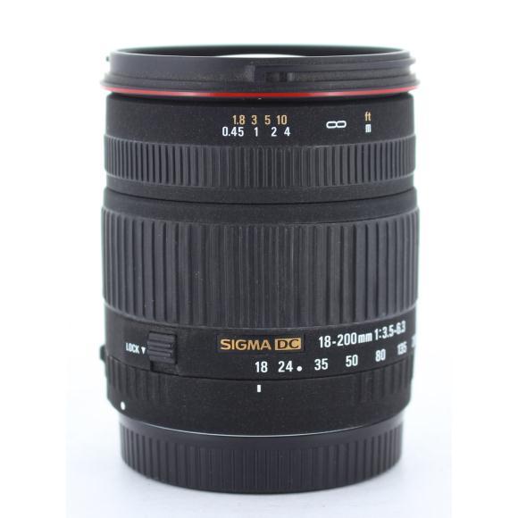 SIGMA EOS18-200mm F3.5-6.3DC【中古】