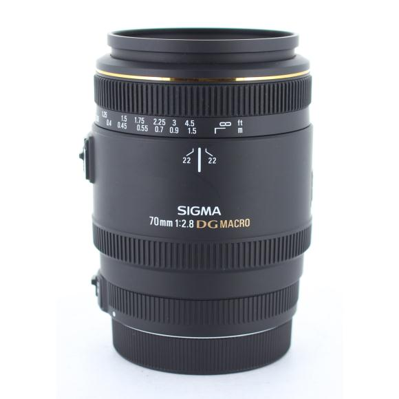 SIGMA EOS70mm F2.8EX DG MACRO【中古】