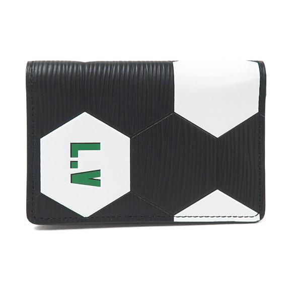 ルイヴィトン FIFAワールドカップ限定 エピ カードケース M63296【中古】
