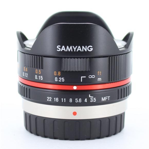 SAMYANG MFT7.5mm F3.5FISHEYE【中古】