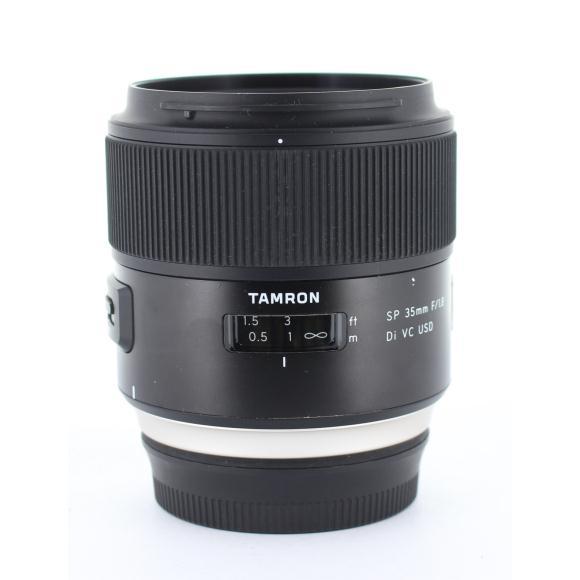 TAMRON EOS35mm F1.8DI VC USD F012【中古】