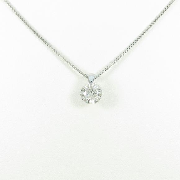 【リメイク】プラチナダイヤモンドネックレス 1.000ct・G・SI2・GOOD【中古】