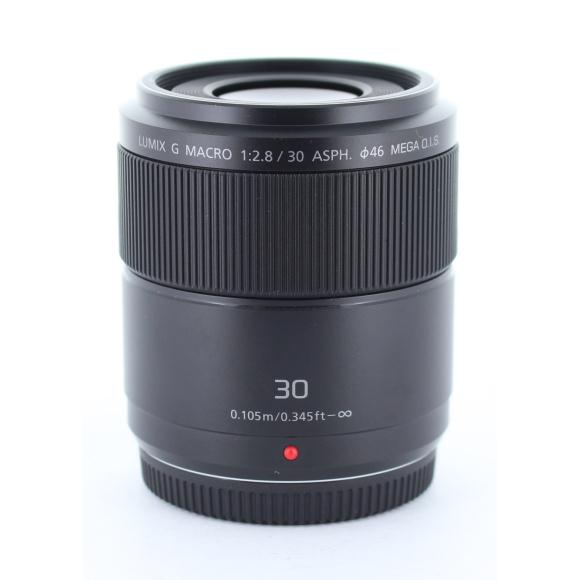 PANASONIC G30mm F2.8MACRO(H-HS030)【中古】